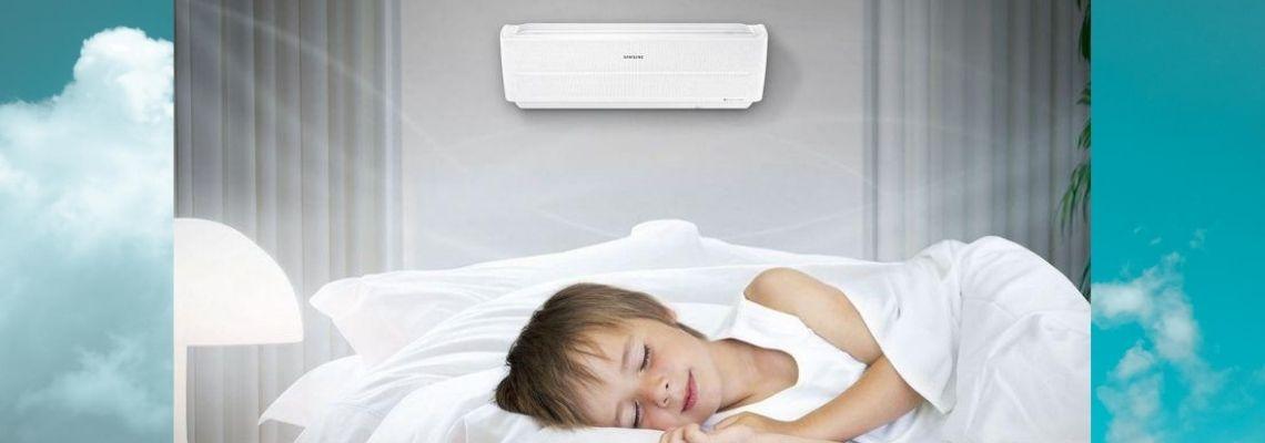 Климатикът по време на сън