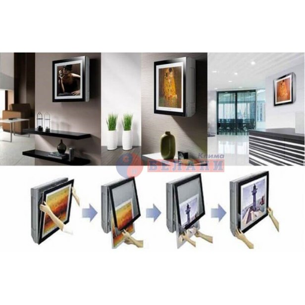 LG ARTCOOL GALLERY Wi-Fi A09FT.NSF / A09FT.UL2 WI-FI, 9000 BTU, Клас A++