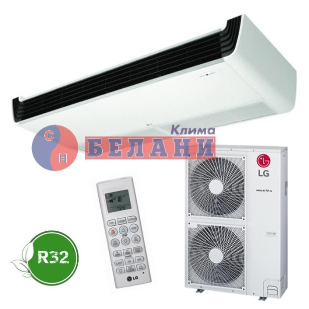 Канален климатик LG UV24F.N10 / UUC1.U40 1Ф, 24000 BTU, Клас A++ - за открит таванен монтаж