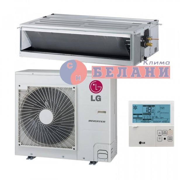 Канален климатик LG UM42F.N20 / UUD1.U30 1Ф, 42000 BTU, Клас A++