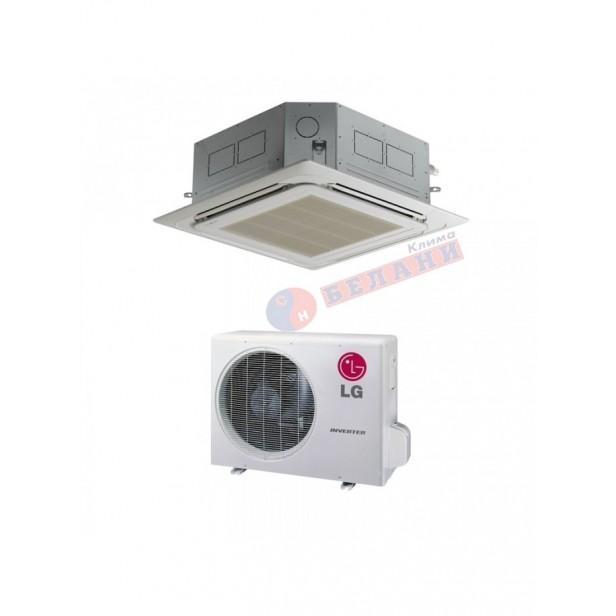 Касетъчен климатик LG UT48F.NA0 / UUD1.U30-1Ф, 48000 BTU, Клас A++