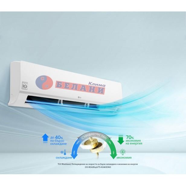 LG Prestige Nordik Wi-Fi F12KM.NSM / F12KM.U24 WI-FI, 12000 BTU, Клас A+++