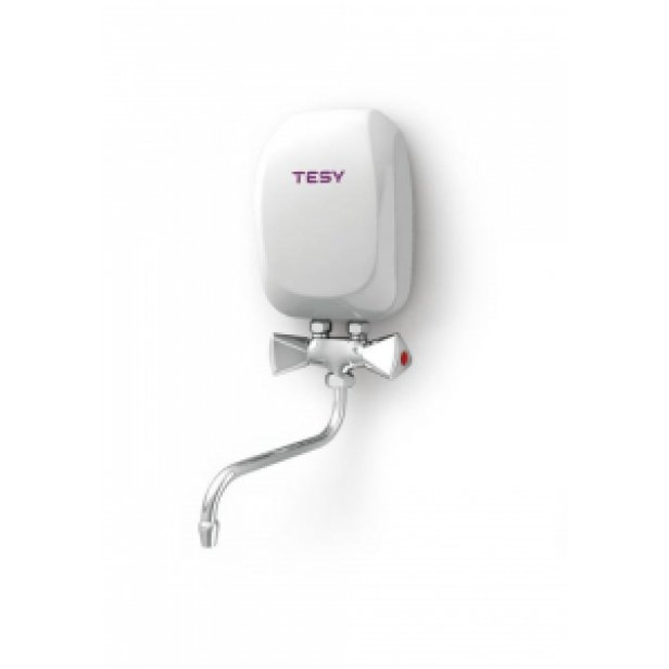 Проточен бойлер за мивка Tesy 3.5 kW с керамична батерия