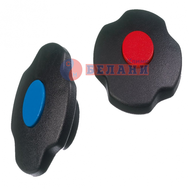 Врътки за кран на манометричен блок, комплект - REFCO