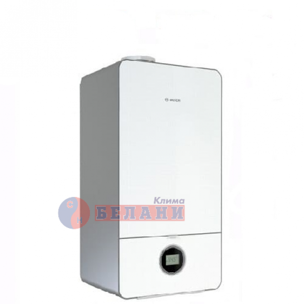 Двуконтурен газов котел Bosch Condens 7000iW 20/24 C 23+CT200 (бял)