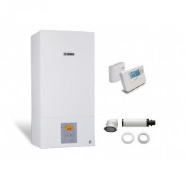 Едноконтурен пакет газов котел Bosch Condens 2500W WBC 24-1 DE23 + Wireless controller