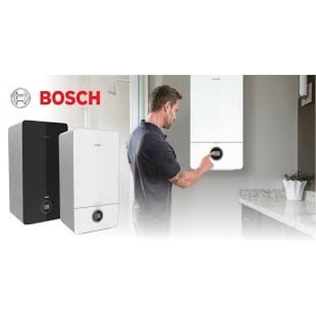 Двуконтурен газов котел Bosch Condens 7000iW 20/24 C 23+CT200+3термоглави (черен)