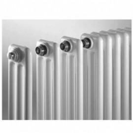 Стоманен глидер COMBY, 3 колони, бял, 1000х992x107 (мм), 122W