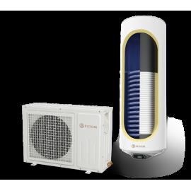 Термопомпен бойлер ЕЛДОМ 150 л., със соларна серпентина, емайлиран