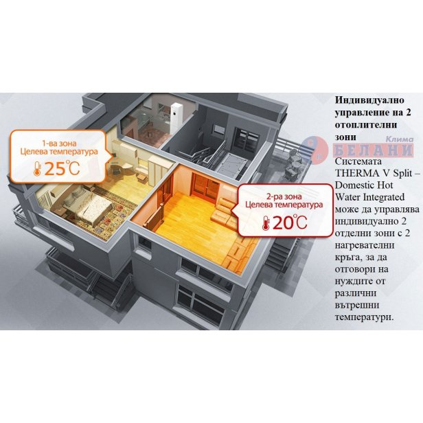Термопомпена система LG HN1616T.NB0/HU121.U33 с вграден бойлер
